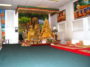 Khmer Buddhist Temple of Ontario main hall